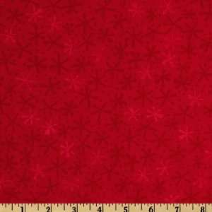 Ten Little Things Twinks Tonal Red Fabric By The Yard Arts, Crafts