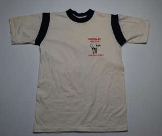 VINTAGE VAN HALEN TOUR HIDE YOUR SHEEP SHIRT 1982 M