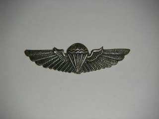 a0176 WW2 OSS Chinese Commando Paratrooper wing