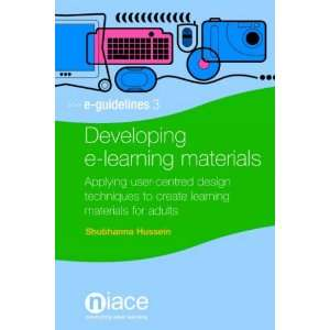 Developing E Learning Materials (E Guidelines
