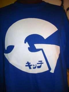GZA WU TANG RZA MEN T SHIRT RETRO BLUE OR / WHITE NEW