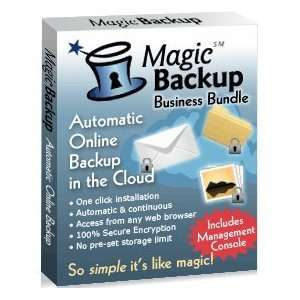 Bundle   Secure Online Backup and Recovery   25 PCs, 1 year Software