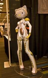 HELLO KITTY ROBOT Body Art Cyber Goth Kei Oi TATTOOS