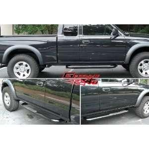 95 04 Toyota Tacoma Ext Cab Black Nerf Bars Automotive