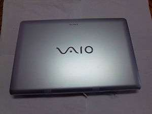 Genuine Sony Vaio VPC EE 33FX LCD monitor Silver Working