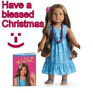 SAME DAY SHIPPING STILL TIME KANANI AMERICAN GIRL DOLL NEW in BOX