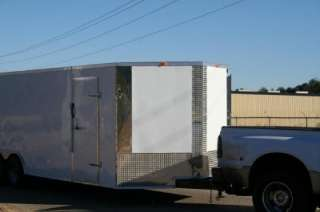 5x24 2012 NEW Cargo Enclosed Trailer Car Hauler  3m Screwless