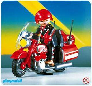 Playmobil 3062 HARLEY or GOLD WING MOTORCYCLE HIGHWAY RIDER   Retired