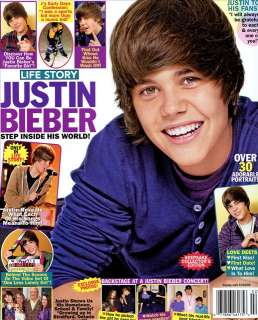 Life Story Magazine Step Inside his World JUSTIN BIEBER
