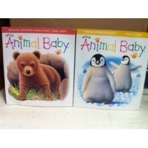 Wild Animal Baby; Collection of 9 Books Elephant, Racoon