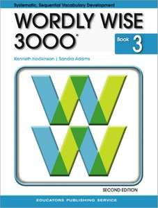 Wordly Wise 3000 Grade 3 Student Book 0838828213