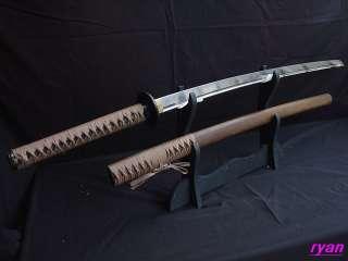 Japanese HandForged Katana Samurai Sword HuaLee Saya Can Cut Bamboo