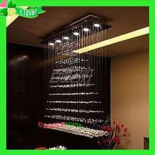 100cm Modern Crystal Ceiling Lighting Light Fixtures Pendant Lamp