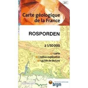 Rosporden Carte geologique de la France (French Edition