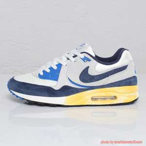 NIKE MENS AIR MAX LIGHT VNTG QS 2011 VINTAGE NAVY GREY BLACK WHITE og