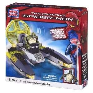 Mega Bloks Lizard Man Sewer Speeder Toys & Games