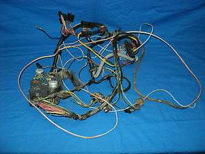 Cab Wire Harness Chevy GMC Truck 1981 350 305 454
