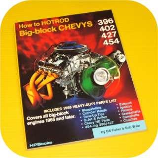 Chevy Big Block Engine Manual Book 396 402 427 454 BBC