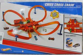 Hot Wheels Criss Cross Crash Track Set, #13459 027084947038