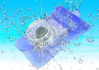 Waterproof Underwater Blue Diving Dive Digital Camera Case Dry Bag fr