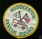 rescue squad ambulance |