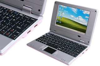 Ship7 inch Mini Laptop Netbook Computer WIFI WinCE 6.0 OS+GIFT