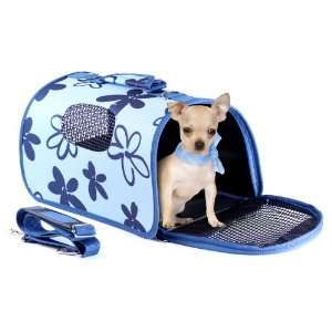 Pet Carrier   Kennel Cab Dog Carrier   Small   Blue