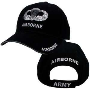 NEW Airborne Jump Wings Cap   Ships in 24 Hours