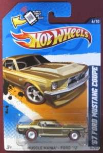 Treasure Hunt 67 Ford Mustang Coupe Muscle Mania 027084984125