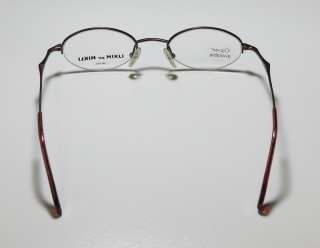 344e8cd41f NEW ALAIN MIKLI 6776 BROWN EYEGLASS GLASSES FRAMES HAND MADE JAPAN ...