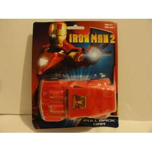 Iron Man 2 Armor Wars Pull Back Car Toys & Games