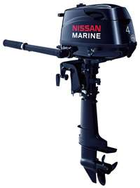 4hp NISSAN/TOHATSU 20 LONG SHAFT Outboard Boat Motor