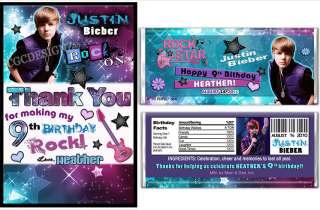 CUSTOM JUSTIN BIEBER PARTY INVITATION WITH FREE BONUS