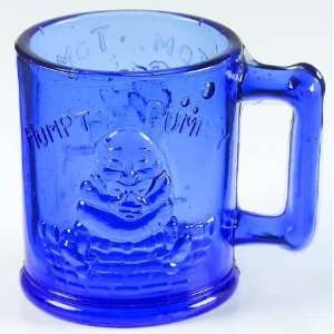 Tiara Glass Tiaraware Light Blue Child Mug Nursery Rhyme