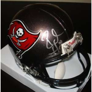 Raheem Morris Hand Signed/Autographed Tampa Bay Bucs Mini Helmet