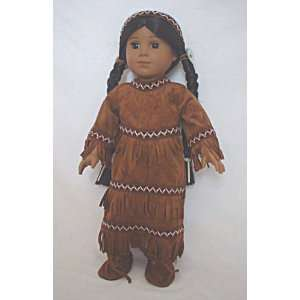 Native American Dress. SHOES Included! Fits 18 Dolls like