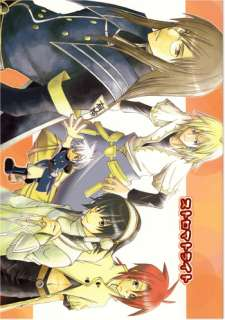 Tales of the Abyss doujinshi all character Stromatolite Claymore