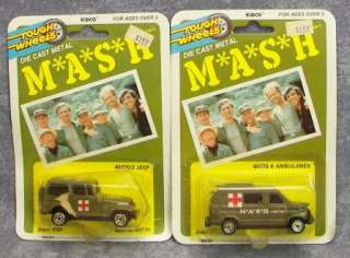 4077 Jointed Action Figure Lot + BONUS KIDCO Mash Vehicles