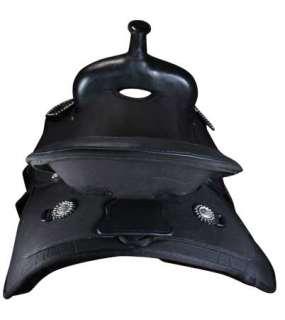 Tahoe Tack Black Night Synthetic Western Horse Saddle 14, 15, 16