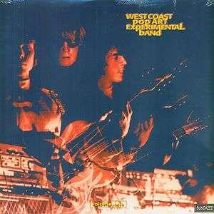 WEST COAST POP ART EXPERIMENTAL BAND Volume One LP NEW SEALED GARAGE