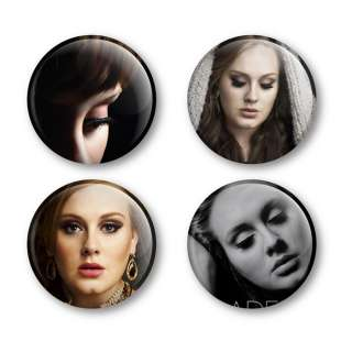 Adele Album 21 19 Badges Buttons Pins Tickets Shirts