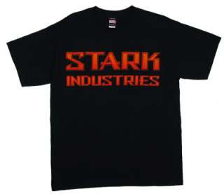Stark Industries   Iron Man   Marvel Comics T shirt