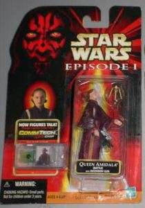 EPISODE 1 Star Wars BATTLE QUEEN AMIDALA Ascension Gun