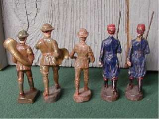 Elastolin,1 Linoel, Doughboys and French Soldiers, Pre War