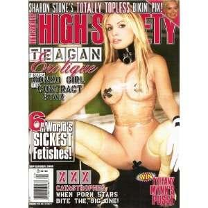 SEPTEMBER 2005 TEAGAN, SHARON STONEA: HIGH SOCIETY:  Books