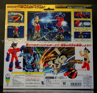 Takara Astro Boy Real Action Figure Mighty Iron Arm Atom vs Atlas Set
