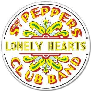 The Beatles Sgt. Peppers Lonely Hearts sticker 4 x 4