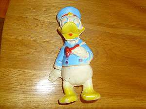 walt disney production donald duck squeeze toy holland hall