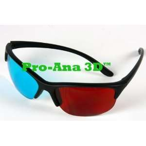 Anaglyph Pro Ana(TM) Plastic 3D Glasses   HIGHEST QUALITY