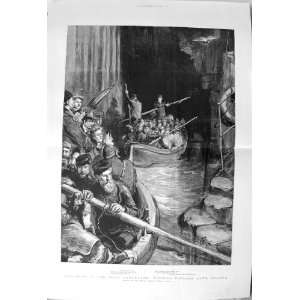 1892 Fingals Cave Staffa Boat Holidays Scotland Art